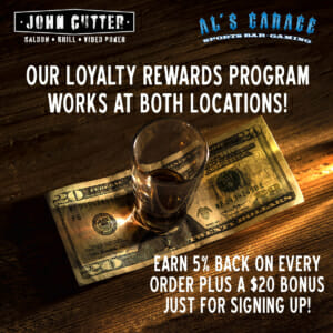 John Cutter Als Garage Customer Loyalty Rewards Program